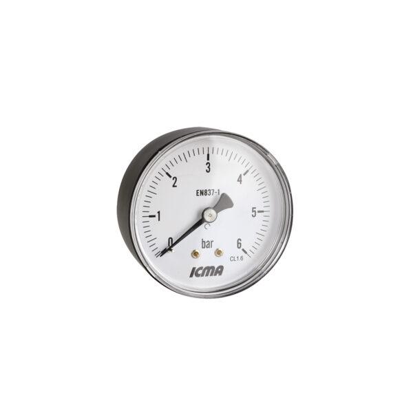 Back connection gauge