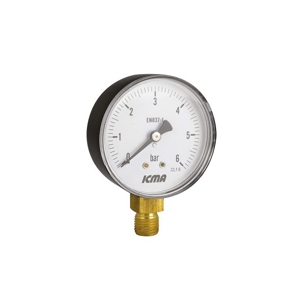 Gauge radial connection