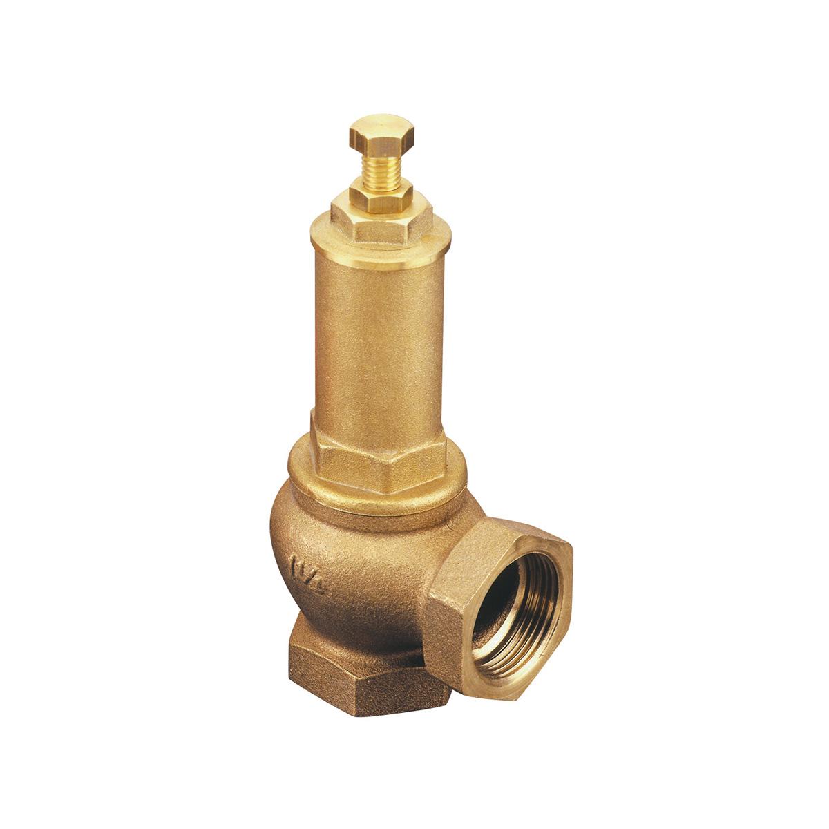 Angle safety valve