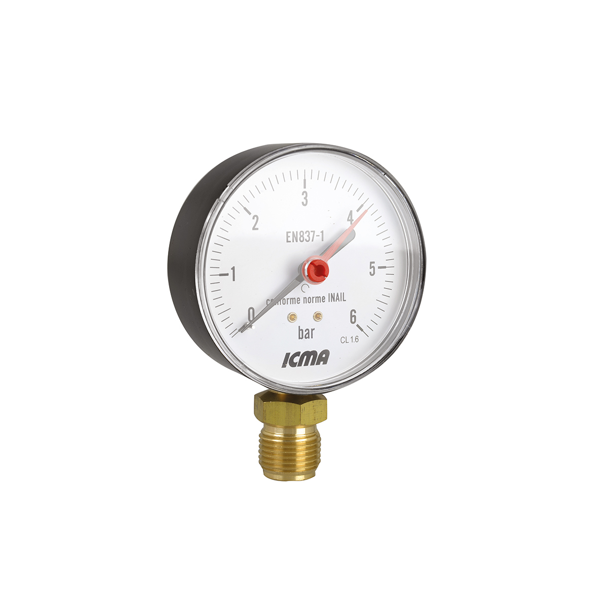 Radial connection gauge