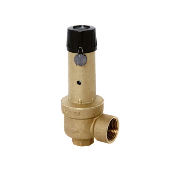 Membrane safety valve