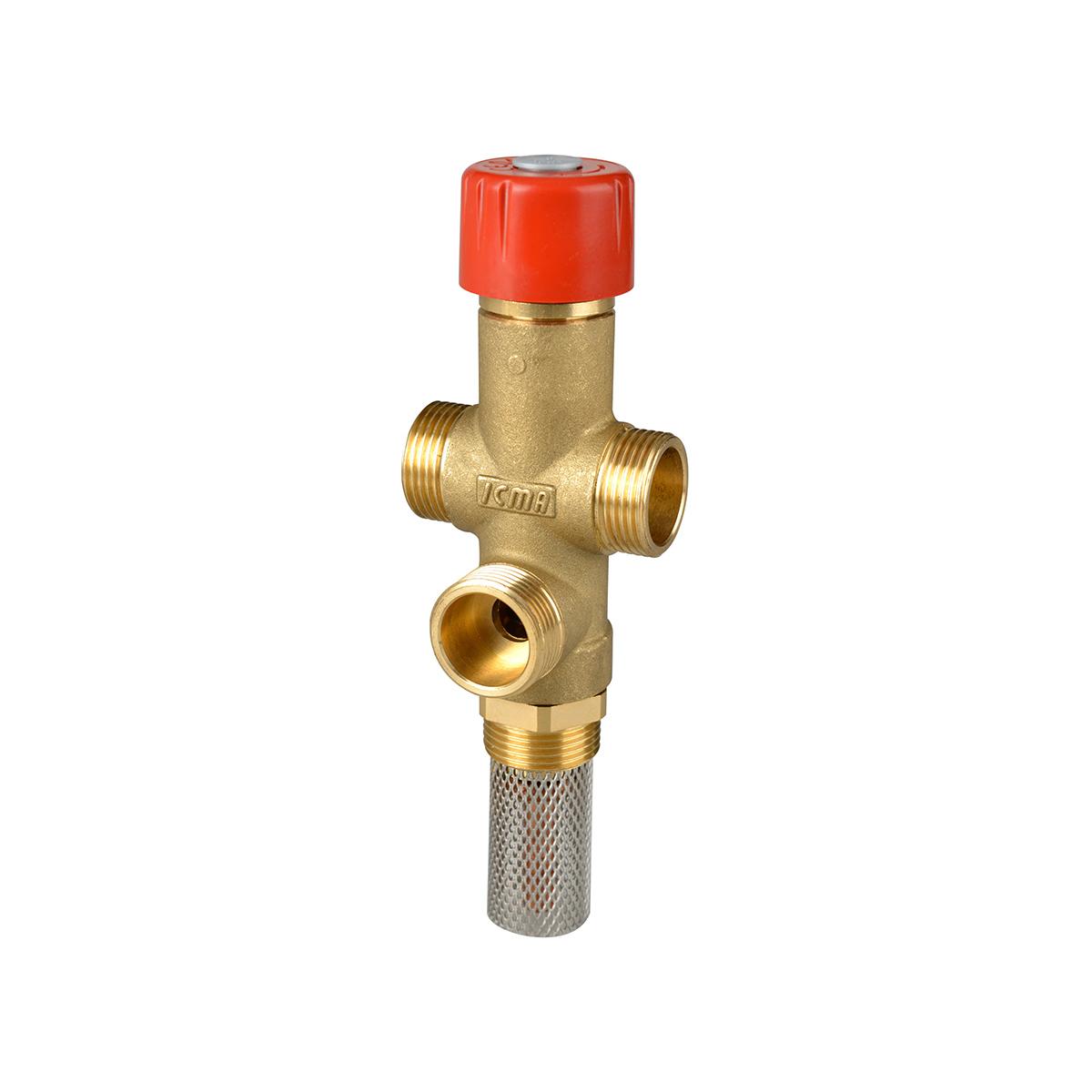 Valvola di scarico termico per prevenire il surriscaldamento di caldaie