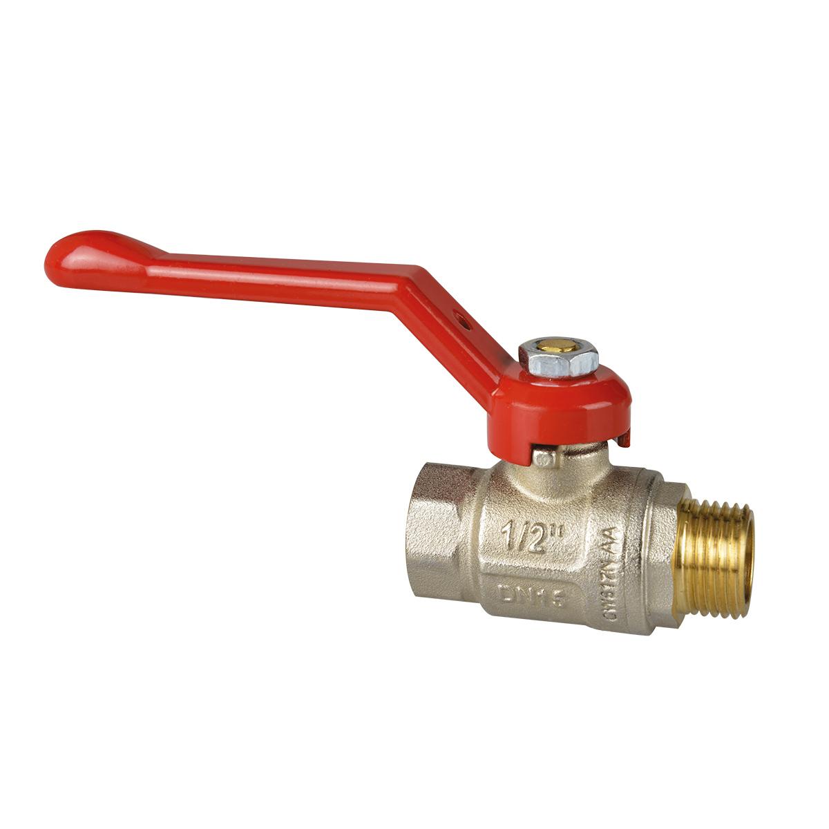 Full bore ball valve double O-ring anti-blow stem.
