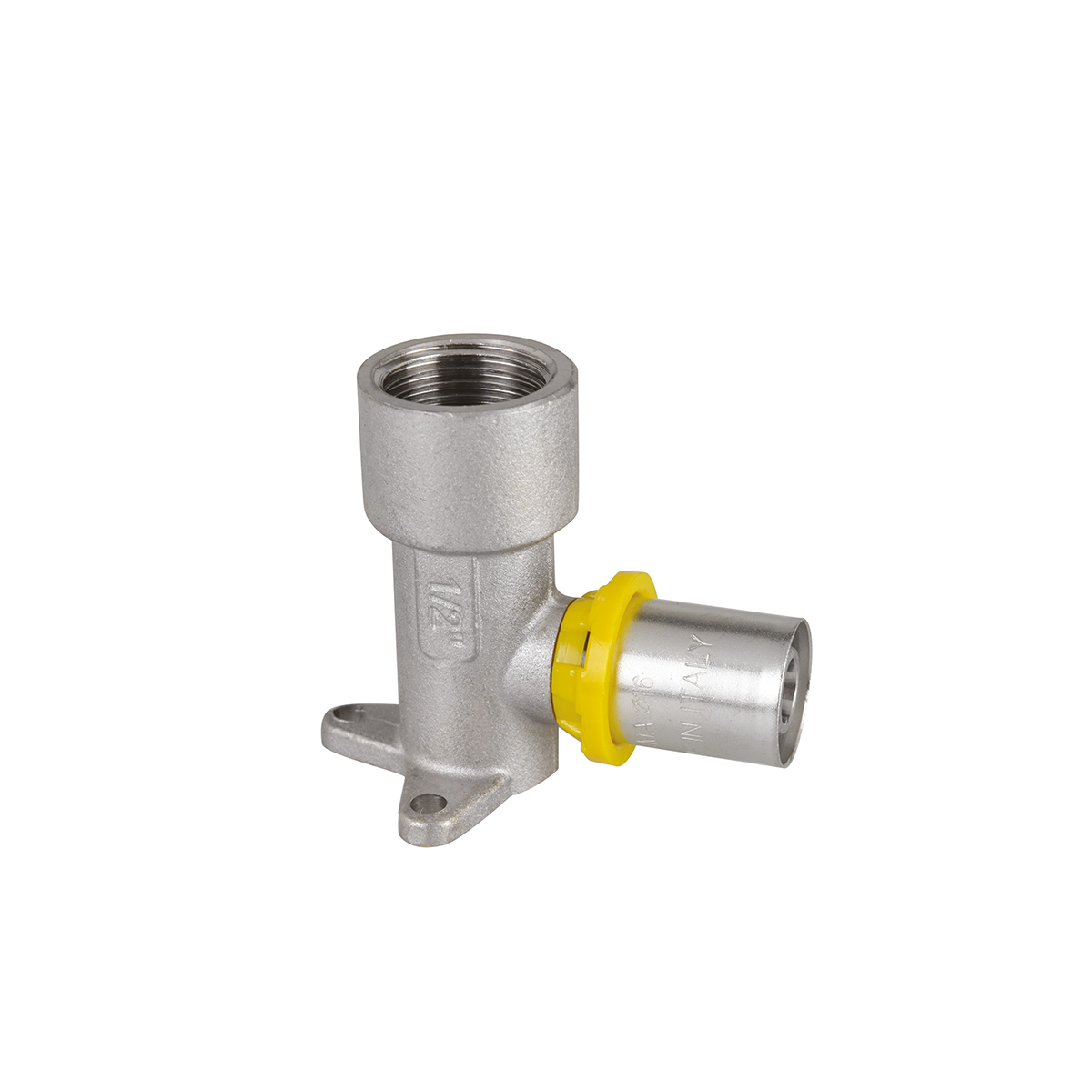 SEMPIGAS® press-fitting for wall plate fixing