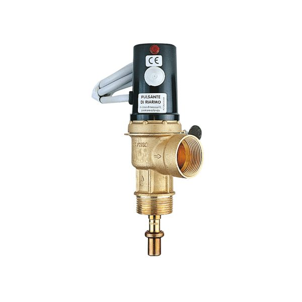 Thermic drain valve. INAIL approved