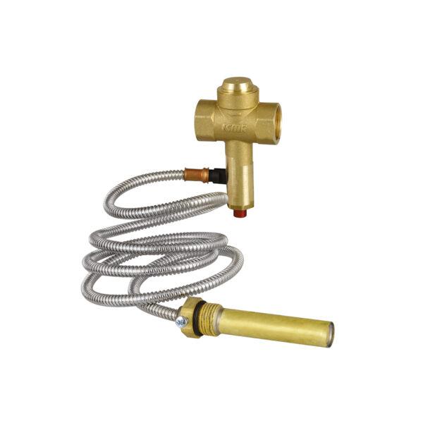 Thermal drain valve