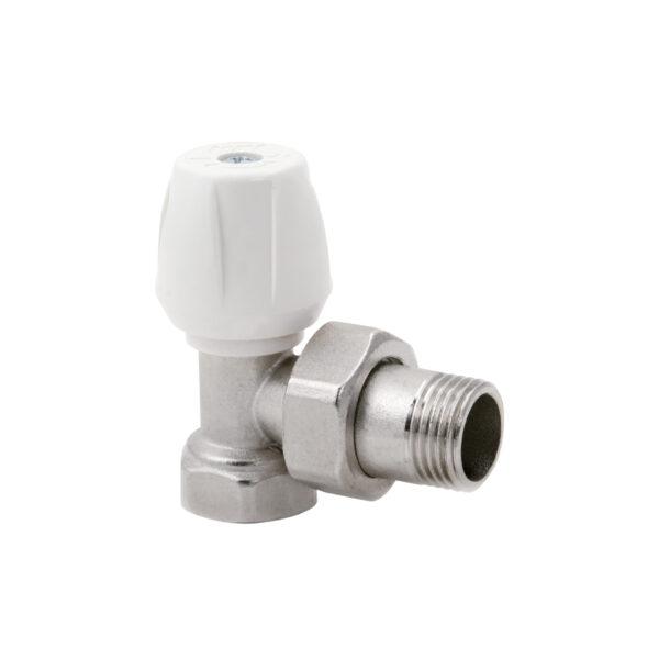 Single setting angle valve