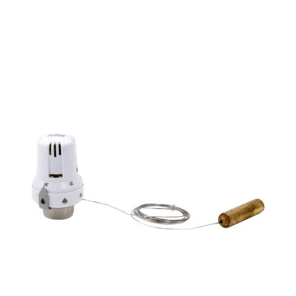 Testa termostatica con sensore a distanza