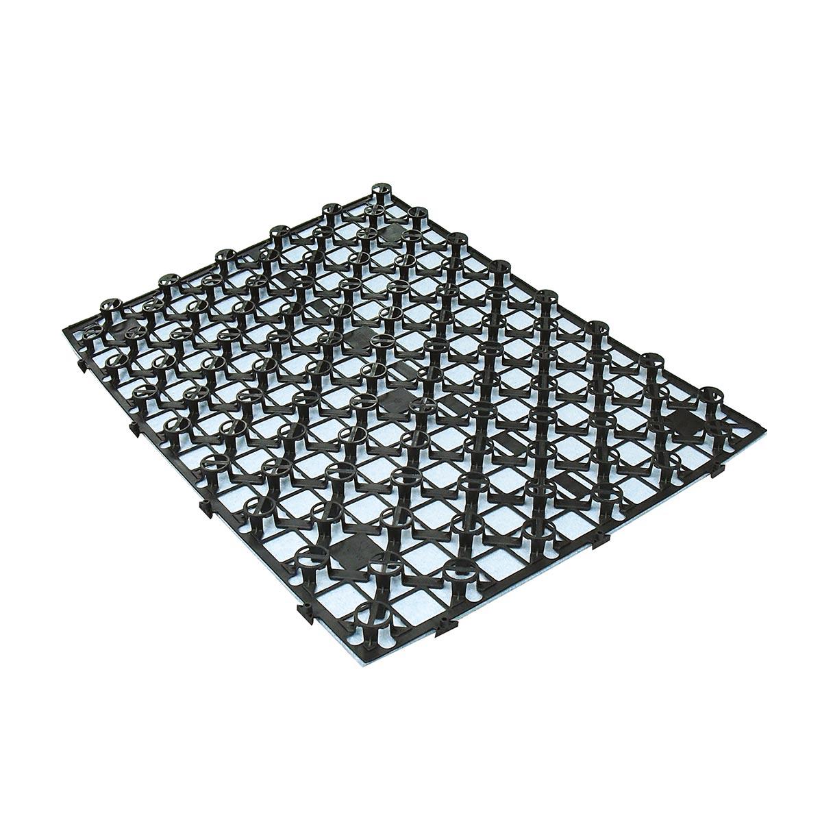 Pannello in plastica per impianti a pavimento