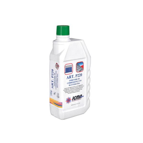 Liquido inibitore di corrosione con battericida