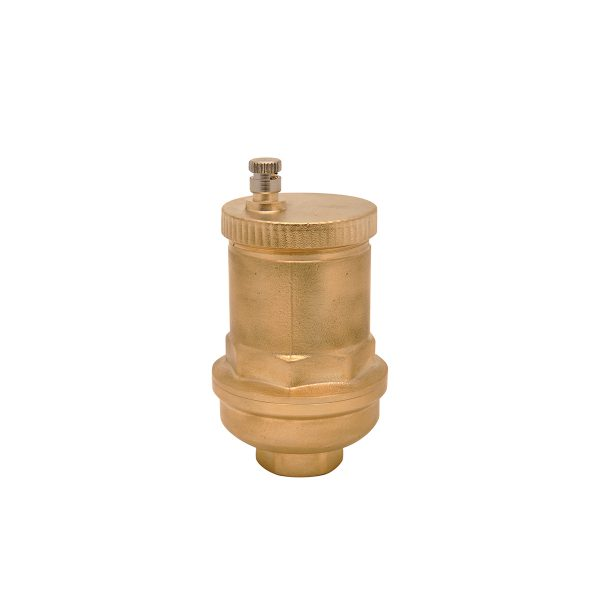 High efficiency automatic air vent valve for solar systems